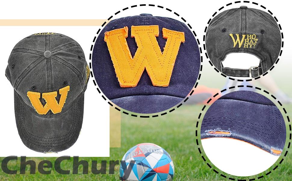 CheChury Baseball Cap Verstellbar Snapback Baseballm/ütze Baseballkappe Retro Outdoor Unisex Sommerhut f/ür Sport Reise Freizeit