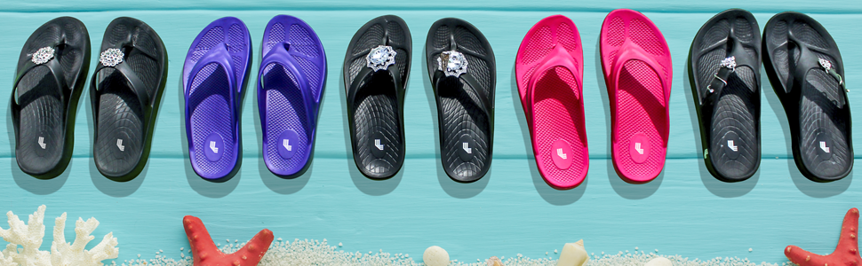 luxfeet shoe charms bling jewelry arch support comfy comfortable shoes sandals flip flops flipflops
