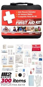 300 Piece First Aid Kit