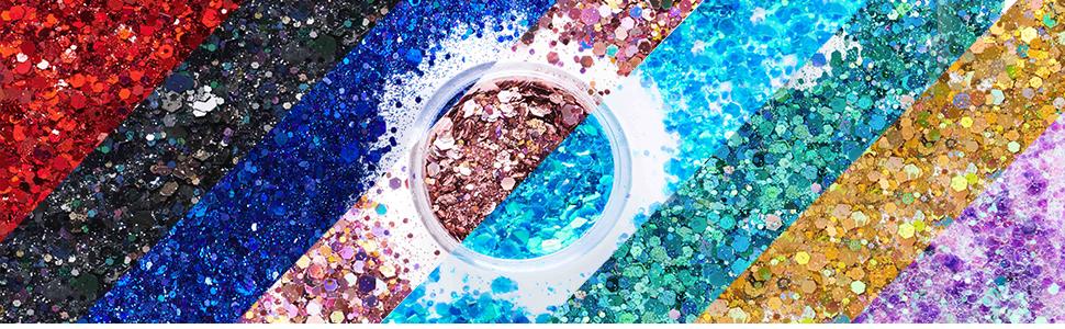 chunky lip  body holographic  cosmetic  glitter eye hair  skin  craft loose bulk holographic
