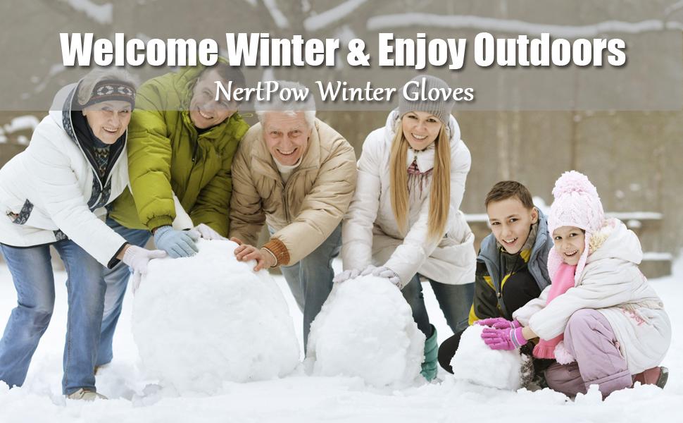 NertPow Winter Gloves For Men And Women