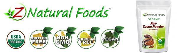 z natural foods cacao powder