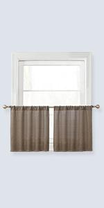 blackout burlap curtains