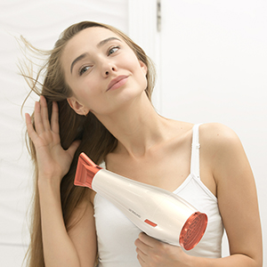 hairdryer hair dryer deluxe rose gold blowdryer ladies girls womens salon professional affordable