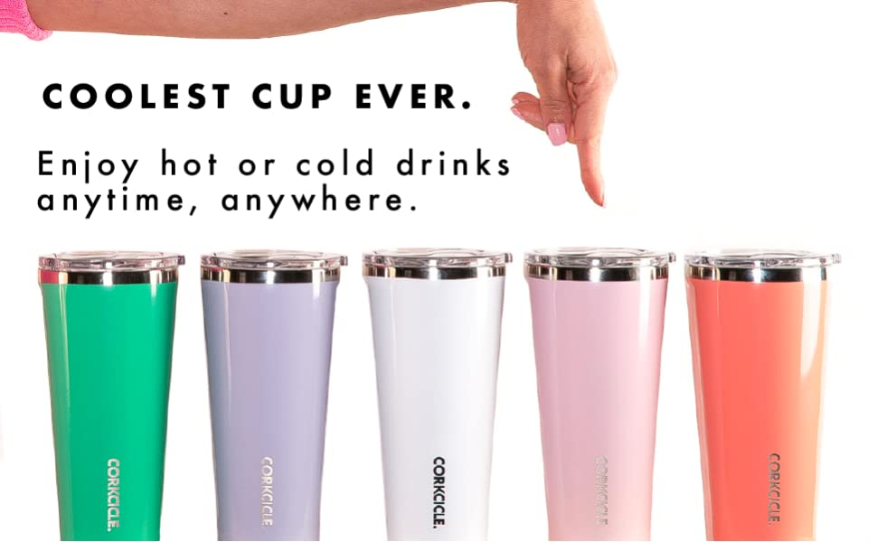 corkcicle tumbler tumblers insulated cup stainless steel