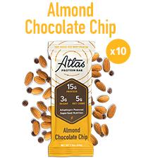 Almond Chocolate Chip Atlas Bar