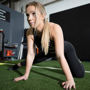 focus strength woman women girl workout athlete yoga pilates core work