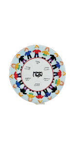 Seder Plate for kids