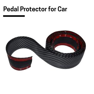 Carbon Fibre Sticker Pedal Protector for Car