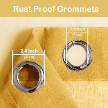 Rust proof grommet