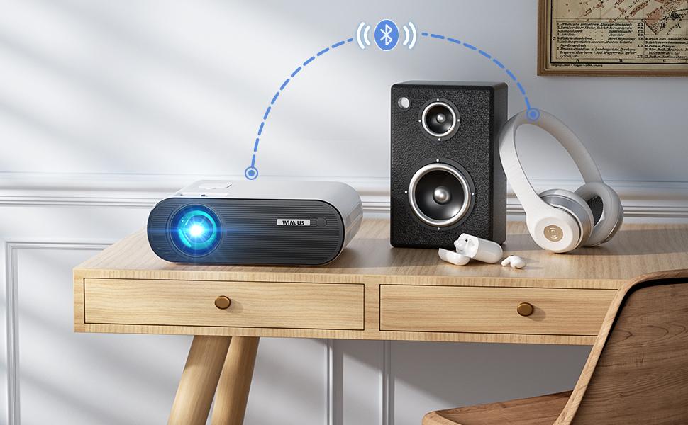 proyector wifi bluetooth full hd 1080p
