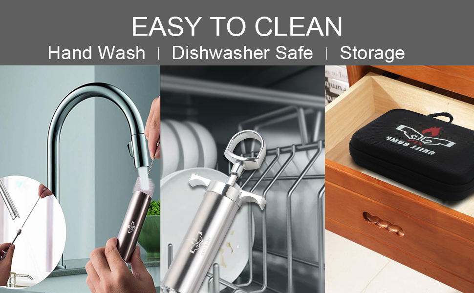 Cleaning and storage method