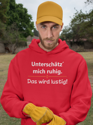 Comedy Shirts Herren Hoodies
