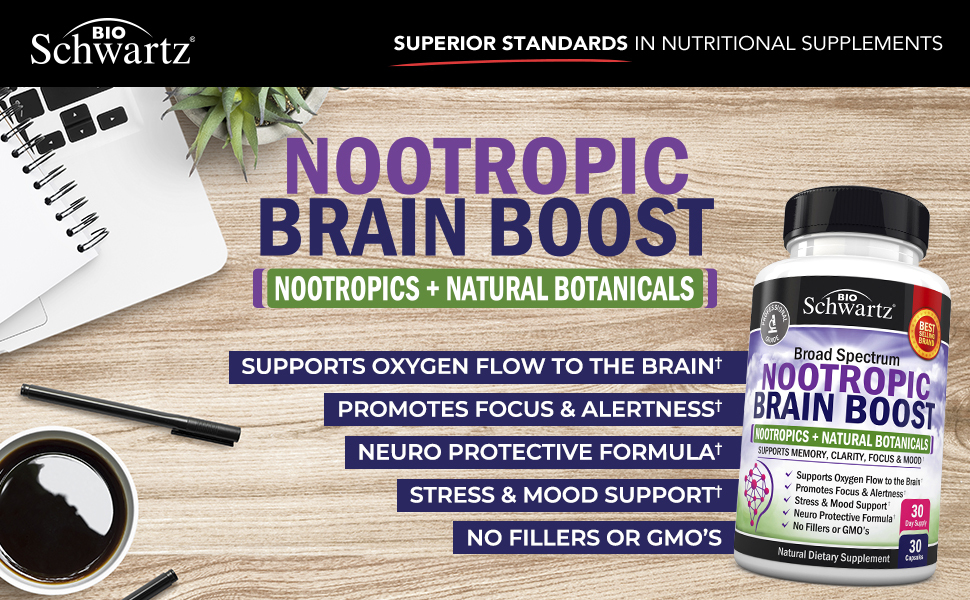 Nootropic Brain Boost
