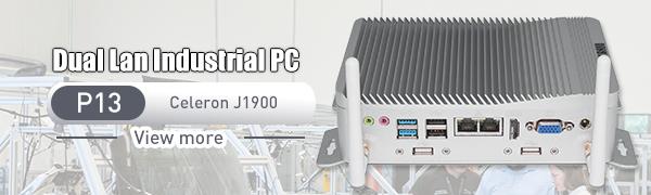 dual LAN industrial pc