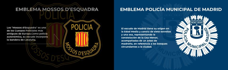 Gemelos para Camisa de la Policía Autonómica del País Vasco ...