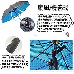 扇風機・ファン搭載
