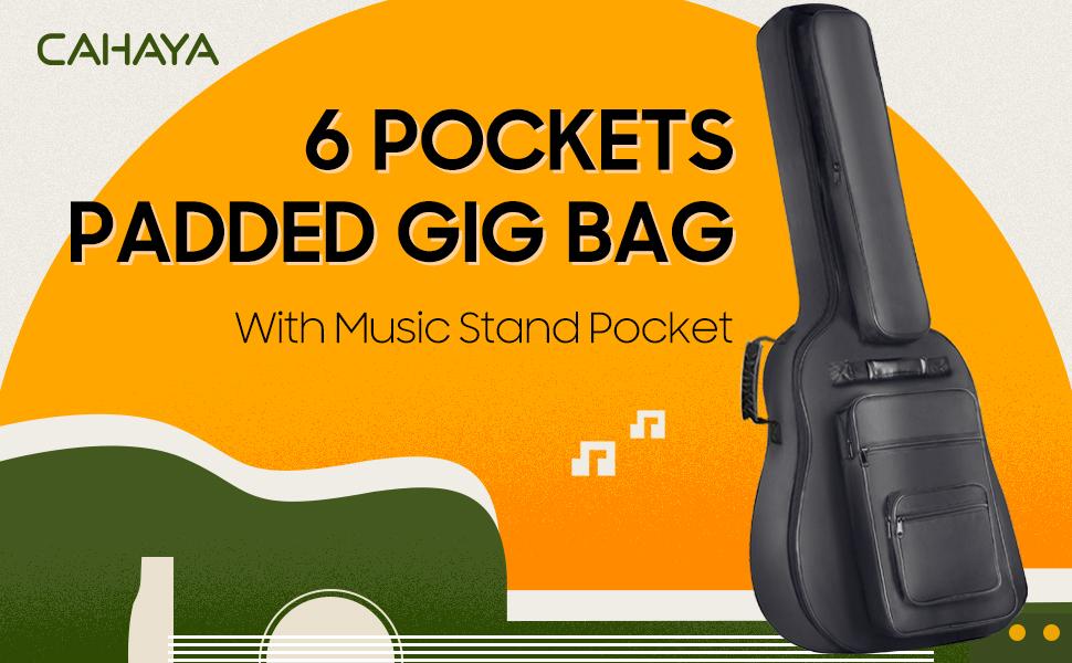 加厚民謠吉他包演出包吉他盒包背包