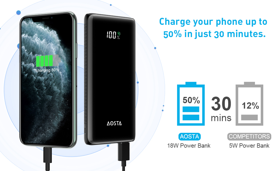 phone battery charger portable