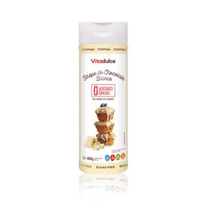 salsa de chocolate blanco, crema de chocolate blanco, salsa de postres
