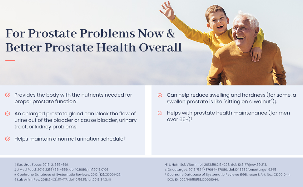 for better prostate health overall