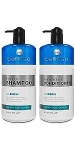 Bellisso Biotin Shampoo and Conditioner
