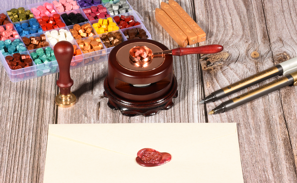 Wax seal warmer