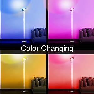 Dynamic Modes Of Smart Wifi Floor Light