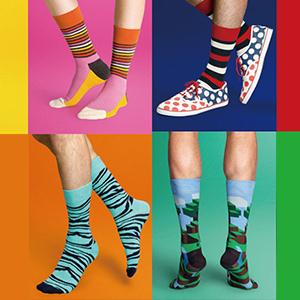 Colorful Pattern Dress Socks Pack Fun Men's Socks