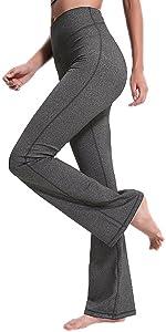 Women's Performance High Waist Bootleg Yoga Pants