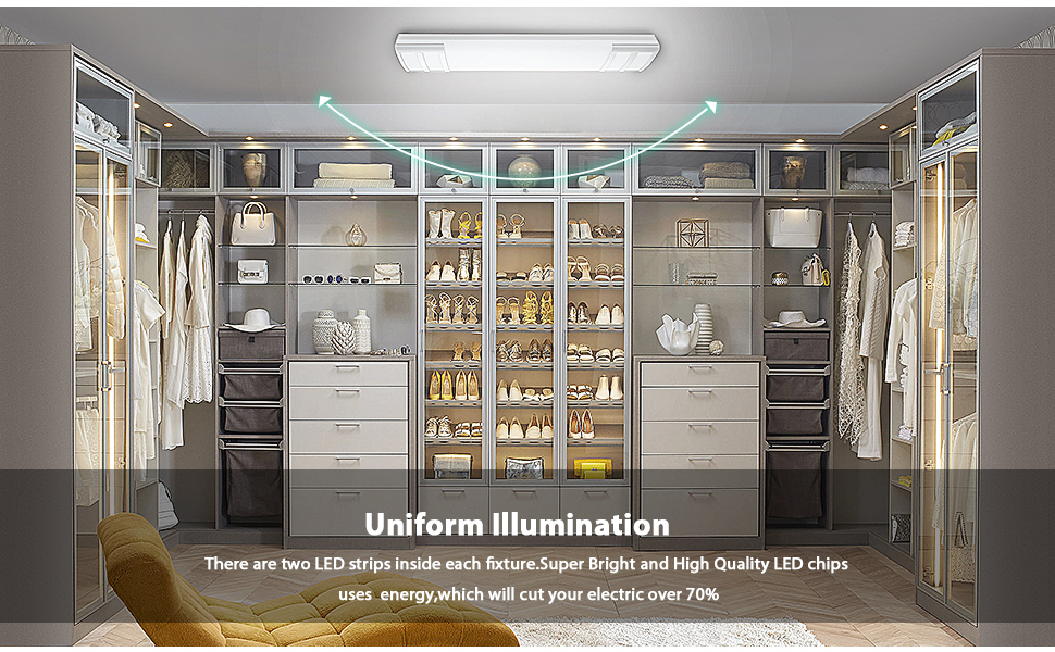 2ft led light fixture kitchen ceiling light fixtures 24 led light led 2 foot fixture led flush mount