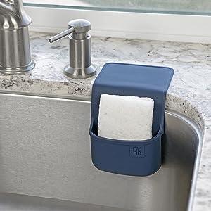 holster brands silicone sponge kitchen dish brush holder