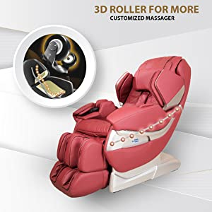 3d rollers for customized massage