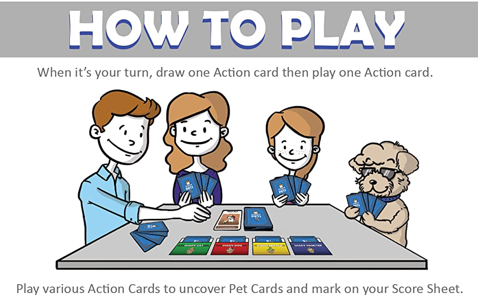 How to Play Shady Pets Card Game - Part 1