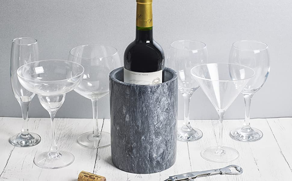 homiu wine cooler chiller cold champagne drinks party white rose