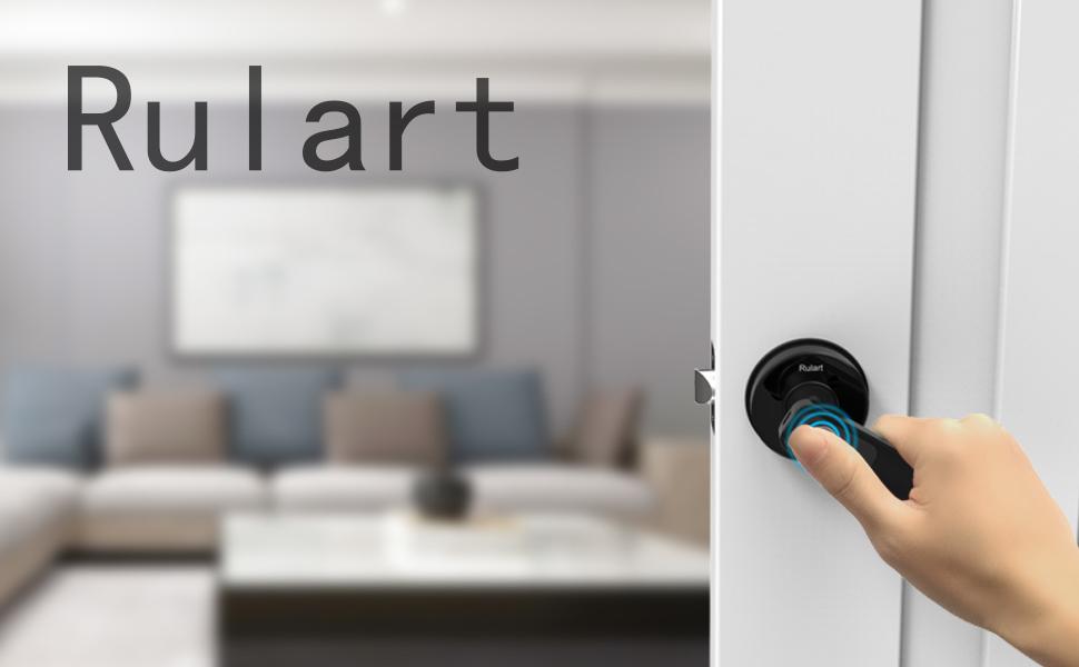 Wide Application Smart Door Lock High Security Biometric Door Lock Easy to Install Low Power Consumption Factory for Home Office School Lock core size: 60mm