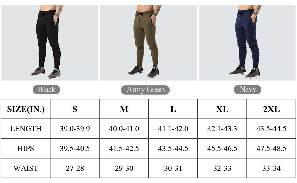 gogging pants for men