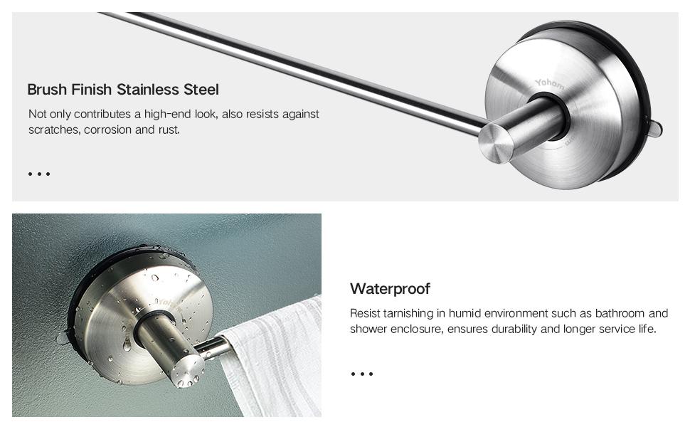 stainless steel towel rail