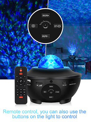 Star Projector Galaxy Light Projector for Bedroom Star light Projector Bluetooth Speaker Sky Lights