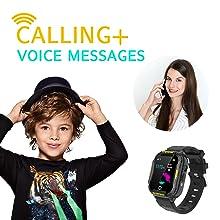 Kids Smart Watch, 4G WiFi GPS LBS Tracker SOS Emergency Call Video Chat Children Smartwatches