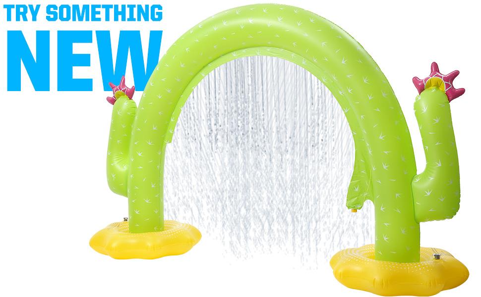 rainbow sprinkler outdoor