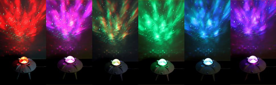 galaxy light projector lighting effect