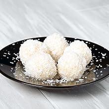 Green Organische kokosmeel Omega 3 ballaststofrijk koken bakken tarwevrij glutenvrij recept