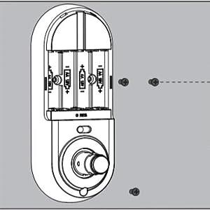 keyless entry door