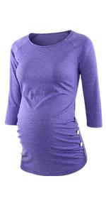 materniy shirts 3/4 sleeve