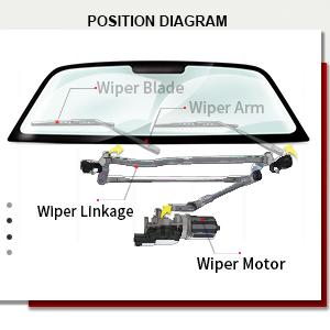 Front Windshield Premium All Season Wiper Blades Set for ACURA TSX 2005-2008