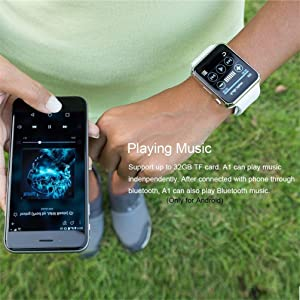 Music From Your Wrist/Remote Camera Control.