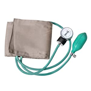Aneroid B.P. and Stethoscope sphygmomanometer manual blood pressure check with big dial