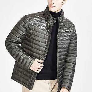 TIGER FORCE JEANS WINTER PUFFER JACKET WITH HOOD outwear Lightweight Coat