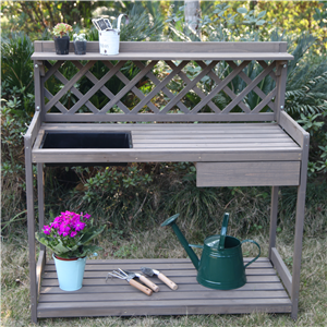 outdoor garden table